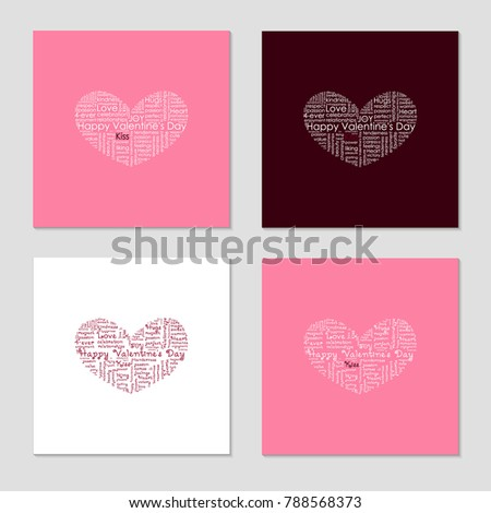 valentines day love background greeting card stock vector 2018