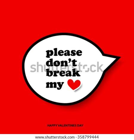 Valentine's Day Modern Design Background - stock vector