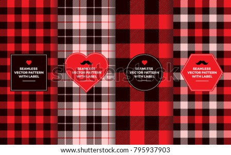 Red Gingham Border Stock Images Royalty Free Images