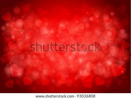 Valentine`s day vector illustration - stock vector