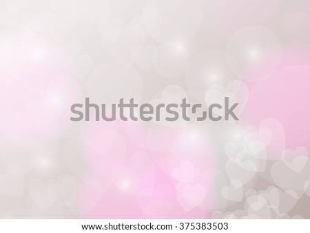 Valentine's Day Wallpaper. Heart Holiday Backdrop. Valentine Hearts Abstract Pink Background.