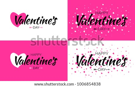 s Day, Love, Text, Calligraphy, Pink, White, Typography, Stock ...