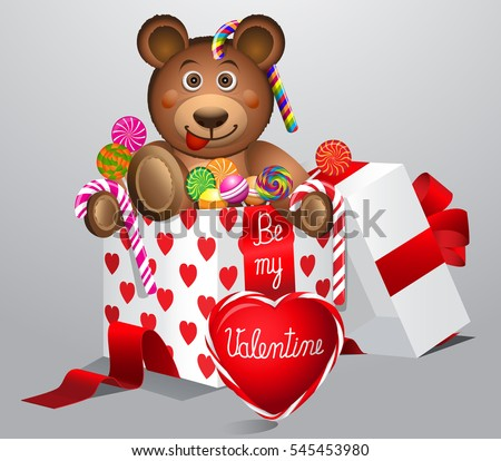 valentines daycute valentines day teddy bear stock vector, Ideas
