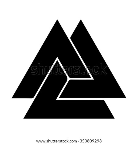Odin Symbol Wallpaper Valknut Stock Photos Images Pictures