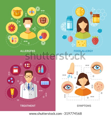 Allergy Symptoms And Signs Clip Art Cliparts