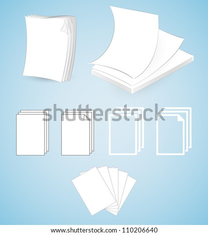 Various Paper Illustrations