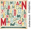 Various Retro Vintage Typography Collection. For High Quality Graphic Projects. - stock vector