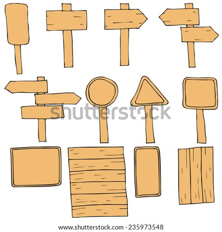 Various signs and symbols. - stock vector