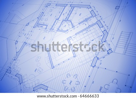 Vector abstract architecture background house plan stock photo vector abstract architecture background house plan blueprint malvernweather Gallery