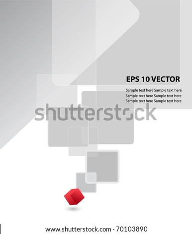 Vector abstract background. - stock vector
