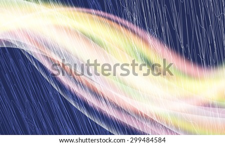 Vector abstract background and colored waves and abstract lines - stock vector
