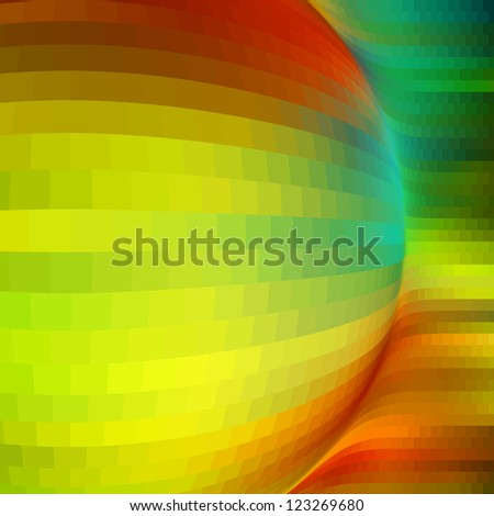 Vector abstract background. Colorful graphics abstract background. - stock vector