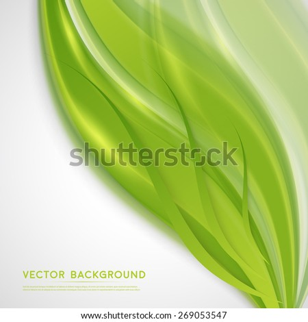 Vector abstract background design wavy.  Brochure design templates collection