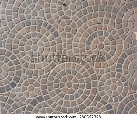 vector , Abstract background - gray paving slabs in the form of squares - stock vector