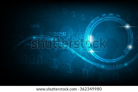 vector abstract background hi tech innovation concept