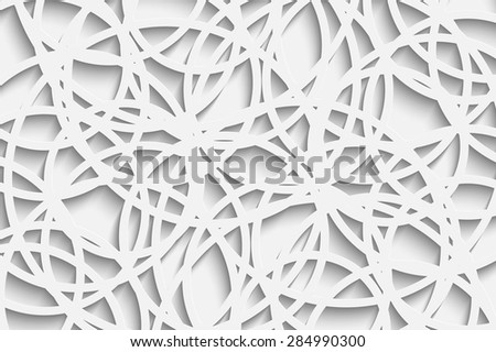 Vector Abstract Background Overlapping circles. Eps10 concept for your design - stock vector