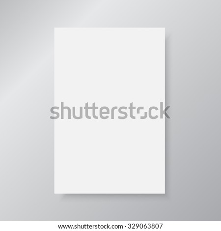 Vector abstract background, Paper sheet,