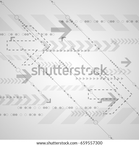 Vector abstract background technology speed concept.
