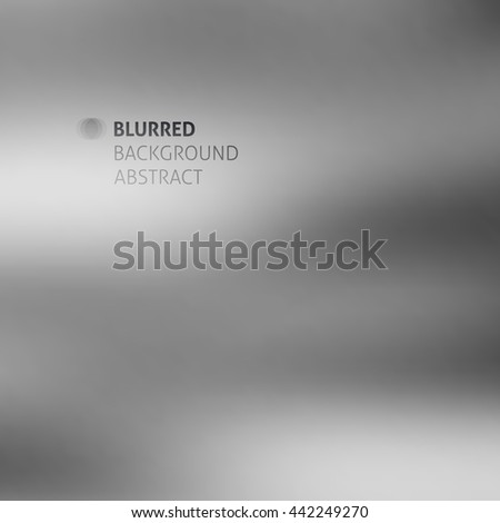vector abstract background with blurred shapes and spots - stock vector