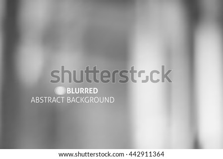 vector abstract background with blurred spots and lines - stock vector