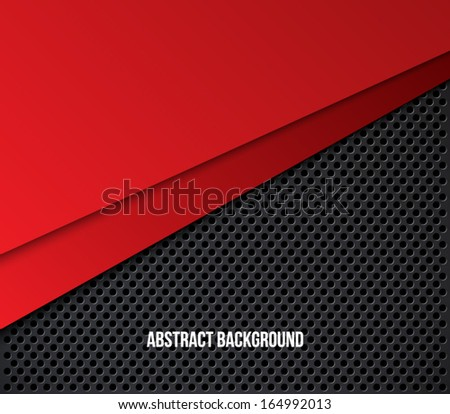 Vector abstract background with metallic dotted pattern