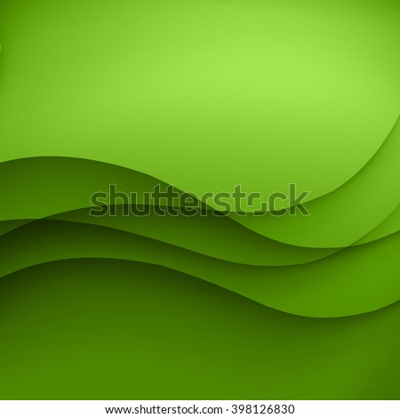 Vector abstract background with wave pattern - stock vector