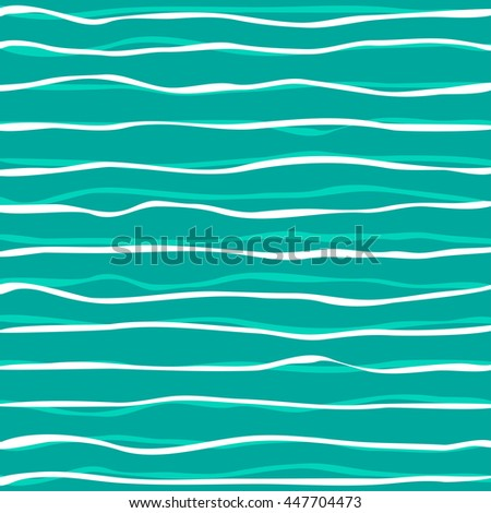 vector abstract background with waves in white and blue. EPS