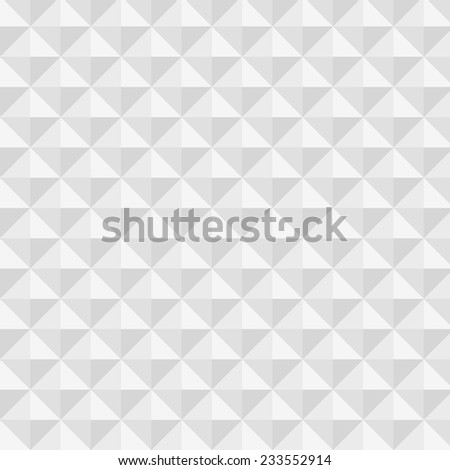 vector abstract background with white and gray triangles - stock vector