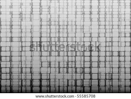 vector abstract background with white squares - stock vector