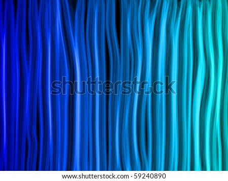 Vector - Abstract Blue Lines Background - stock vector