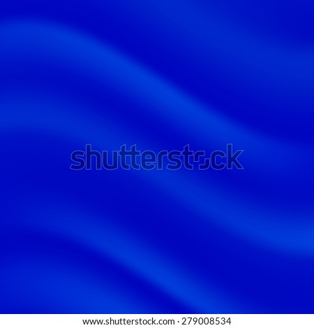 Vector Abstract Blue Wave Background. Blue Wave Texture.  - stock vector