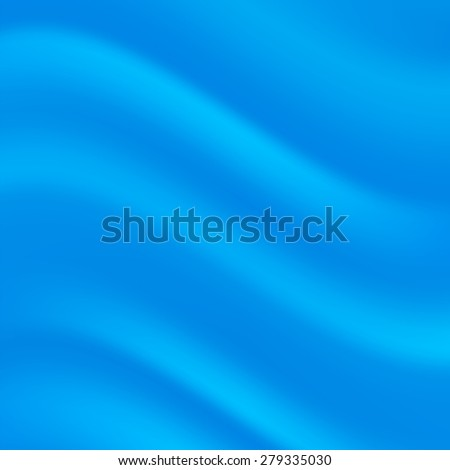 Vector Abstract Blue Wave Background for Your Design. - stock vector