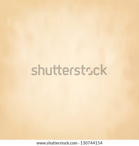 Vector abstract brown background old paper parchment with soft texture, wallpaper, neutral plain backdrop for website or vintage invitation or stationary - stock vector