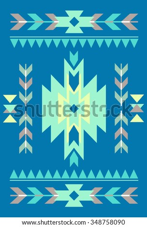 Vector abstract card templates for design wedding cards, party invitations, birthday, Valentines day, cover with tribal, navajo, ethnic, geometric patterns and elements - stock vector