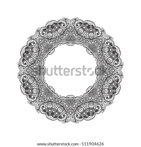 oval frame tattoo design. Black And White Border, Frame, Vignette, Ornament, Oval Frame Tattoo Design