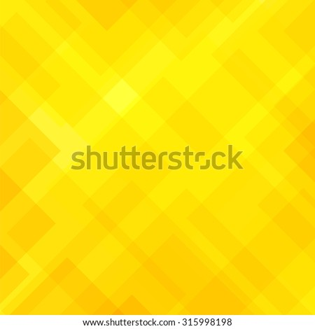 Vector Abstract Elegant Diagonal Yellow Background. Abstract Yellow Pattern. Squares Texture