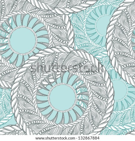 vector abstract geometric pattern - stock vector