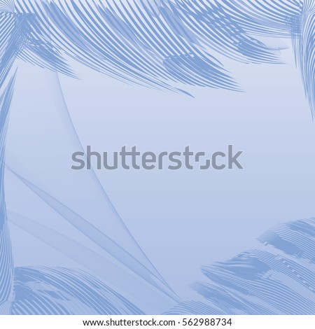 Vector abstract graphic design background blue.