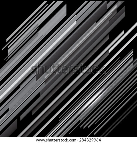 Vector Abstract Grey Line Background. Creative Grey Pattern. - stock vector