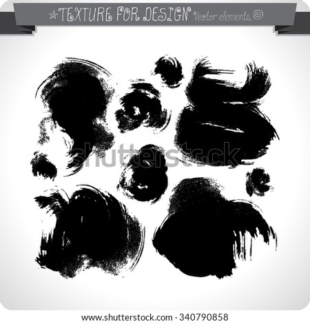 Vector abstract grunge background. Hand texture drawn. Vintage.