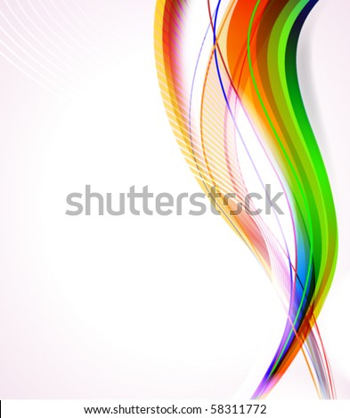 VECTOR Abstract line background