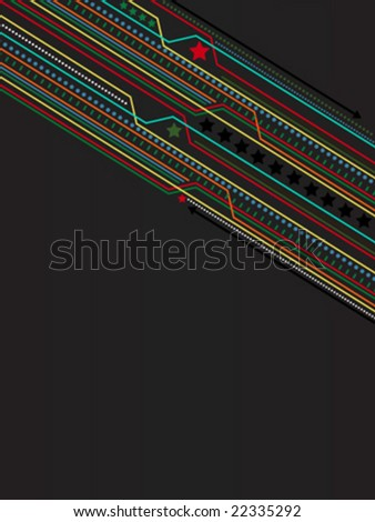 vector abstract lines