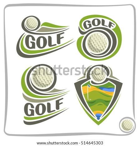 golf logo stock images royaltyfree images amp vectors