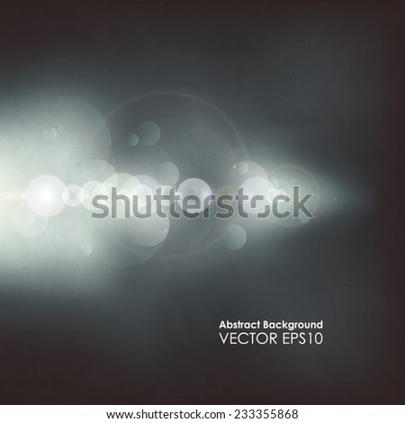 Vector abstract modern background beam of light - stock vector