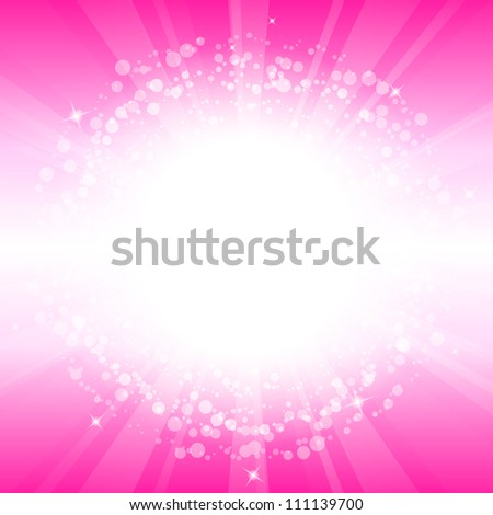 Vector abstract pink background - stock vector