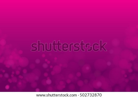 Vector abstract purple light bokeh background.