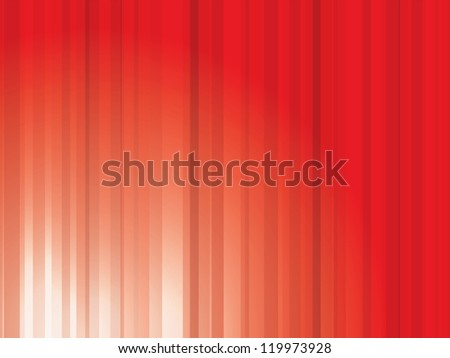 Vector abstract red light streaks background - stock vector