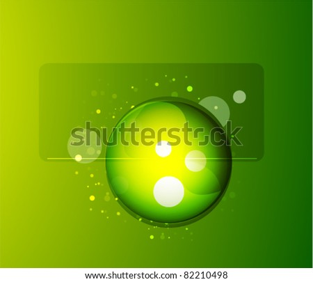 Vector abstract sphere background - stock vector