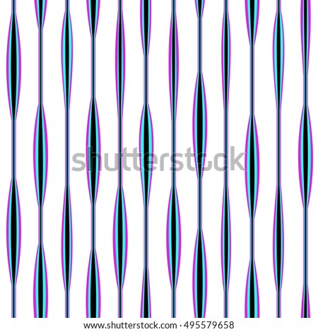 Vector abstract stripe background pattern