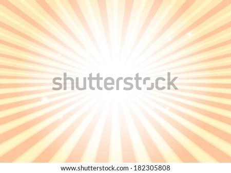 Vector abstract sun background blast illustration - Background circular illustration vector burst - stock vector